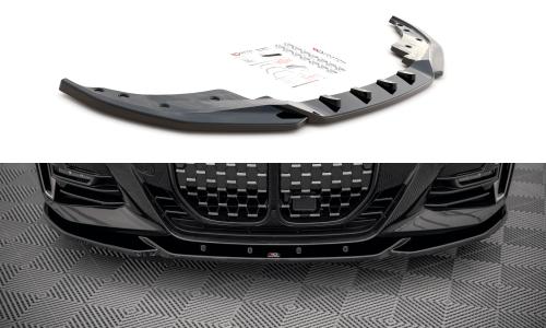 4-Serie G22 M-Sport 20+ Frontsplitter V.4 Maxton Design