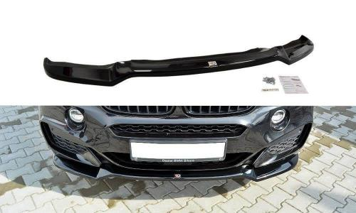 BMW X6 M-Paket 14-19 Frontsplitter V.1 Maxton Design