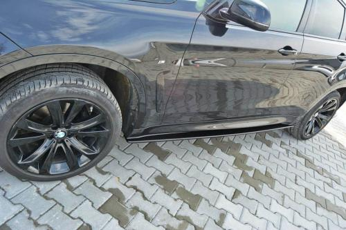 BMW X6 M-Paket 14-19 Sidoextensions V.1 Maxton Design
