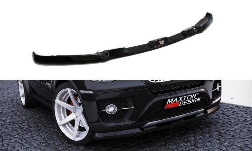 BMW X6 07-10 Frontsplitter V.1 Maxton Design