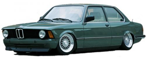BMW 3-serie E21 1975 - 1984 Rear Air Suspension Strut Kit TA Technix
