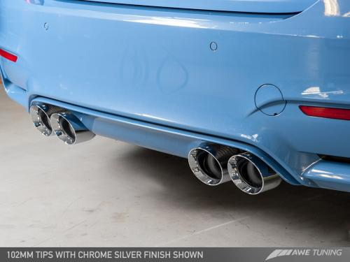 BMW F8X M3/M4 Non Resonated SwitchPath Exhaust AWE Tuning