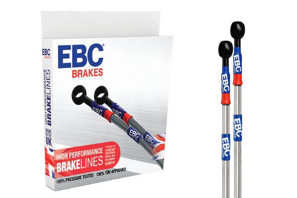 BLA2142-4L Braided Brake Lines EBC Brakes