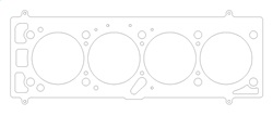 Porsche 924/924 Turbo 88mm Topplockspackning Cometic Gaskets