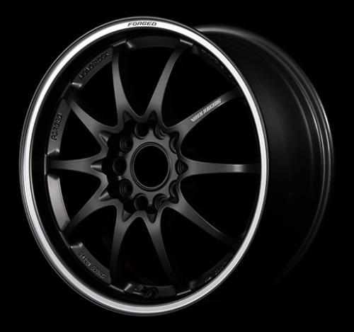 CE28 Club Racer 8spoke 15x5.5 ET45 4x100 Matt Dark Gun Metal/Rim Flange DC Volk racing