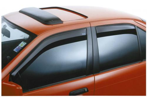 Nissan Almera 00+ 3D (N16) ClimAir Window Visors (2-pc)