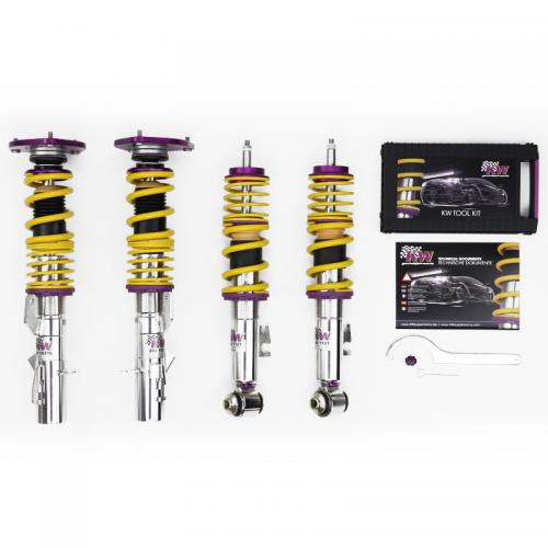 M3 (F80) (M3) (Med elektronisk dämpning) 04/14-12/14 Coiloverkit KW Suspension Clubsport 2-Way