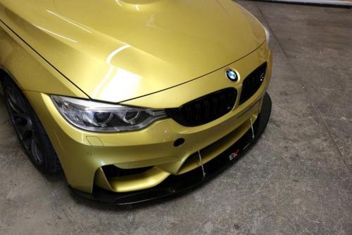 BMW F82 M4 / F80 M3 Kolfibersplitter Inkl. Stag APR Performance