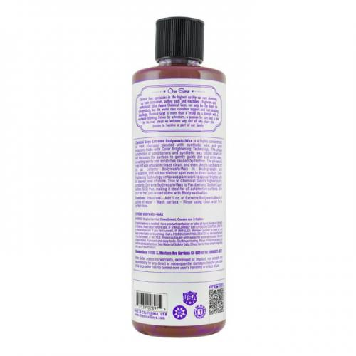 """Chemical Guys Skumschampo """"Extreme Bodywash + Wax"""" 473ml"""