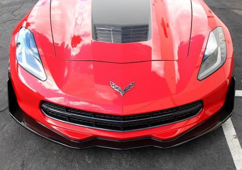 Chevrolet Corvette C7 2014- Carbon Fiber Front Airdam Track Pack