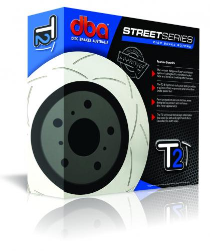 CHEVROLET Rear Street Series - T2 Brake Disc (Single) DBA