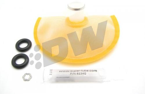 DW65C series, 265lph compact fuel pump w/ mounting clips w /Install Kit for  GTO 04-06, Legacy GT 05-09, WRX 08-14, Sti 08-19