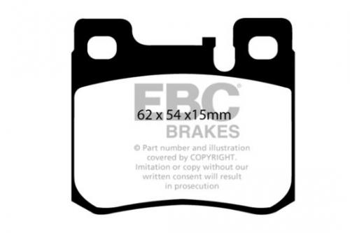DP1026 Ultimax2 Rear Brake Pads (Street) EBC Brakes