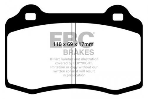 DP1031 Ultimax2 Front Brake Pads (Street) EBC Brakes