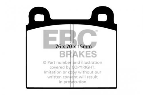 DP103 Ultimax2 Front / Rear Brake Pads (Street) EBC Brakes