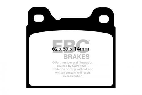 DP1043 Ultimax2 Rear Brake Pads (Street) EBC Brakes
