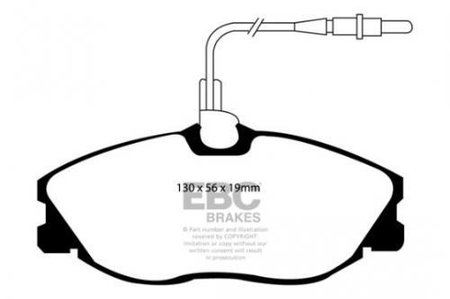 DP1047 Ultimax2 Främre Bromsbelägg (Gata) EBC Brakes