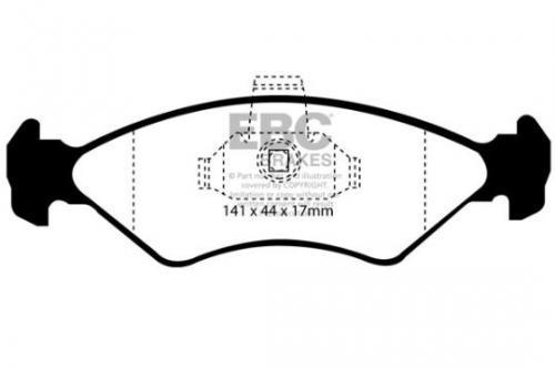 DP1050 Ultimax2 Front Brake Pads (Street) EBC Brakes
