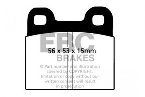 DP105 Ultimax2 Front / Rear Brake Pads (Street) EBC Brakes