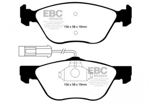 DP1061 Ultimax2 Front Brake Pads (Street) EBC Brakes