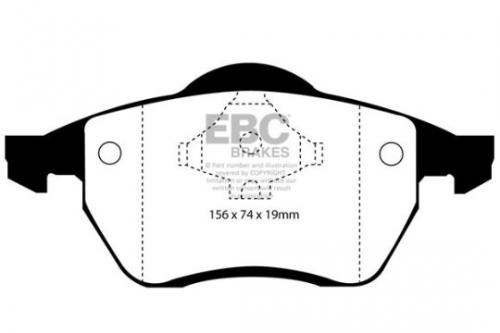 DP1074 Ultimax2 Front Brake Pads (Street) EBC Brakes