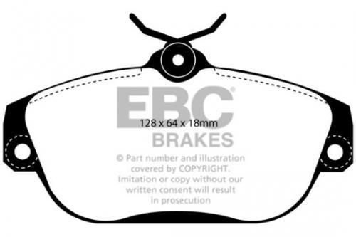 DP1095 Ultimax2 Front Brake Pads (Street) EBC Brakes
