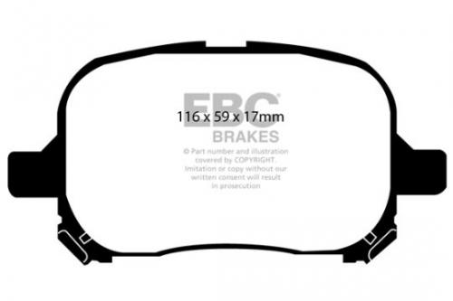 DP1133 Ultimax2 Front Brake Pads (Street) EBC Brakes