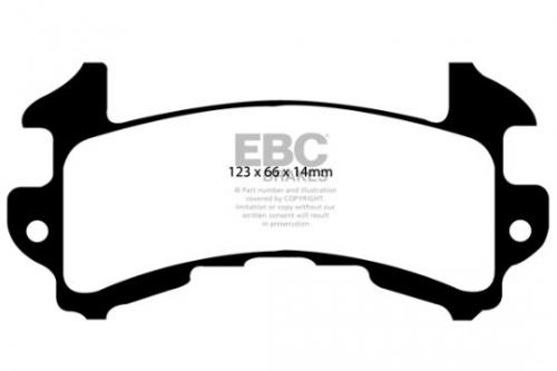 DP1146 Ultimax2 Front / Rear Brake Pads (Street) EBC Brakes