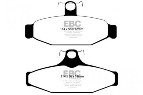 DP1167 Ultimax2 Rear Brake Pads (Street) EBC Brakes