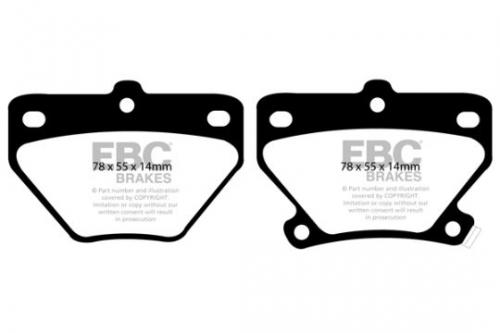 DP1326 Ultimax2 Rear Brake Pads (Street) EBC Brakes