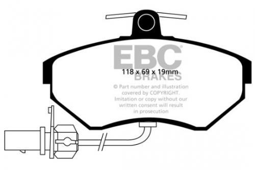 DP1351 Ultimax2 Front Brake Pads (Street) EBC Brakes