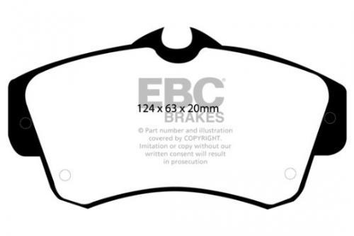 DP1357 Ultimax2 Front Brake Pads (Street) EBC Brakes