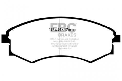 DP1358 Ultimax2 Främre Bromsbelägg (Gata) EBC Brakes