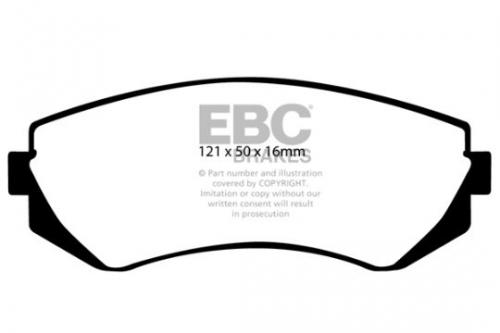 DP1360 Ultimax2 Front Brake Pads (Street) EBC Brakes