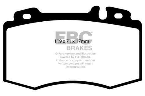 DP1363 Ultimax2 Front Brake Pads (Street) EBC Brakes