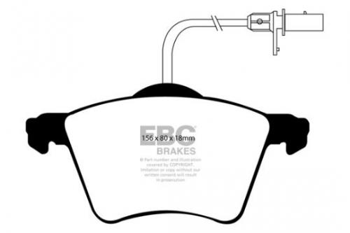 DP1368 Ultimax2 Front Brake Pads (Street) EBC Brakes