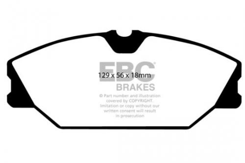 DP1369 Ultimax2 Front Brake Pads (Street) EBC Brakes