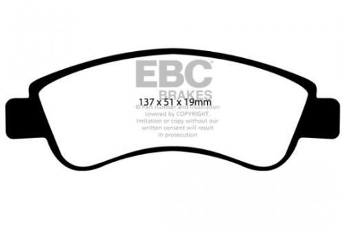 DP1374 Ultimax2 Front Brake Pads (Street) EBC Brakes