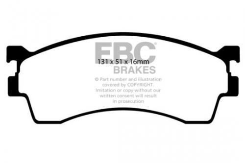 DP1409 Ultimax2 Front Brake Pads (Street) EBC Brakes