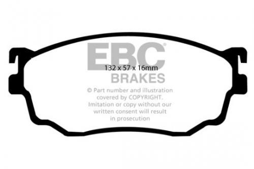 DP1411 Ultimax2 Front Brake Pads (Street) EBC Brakes