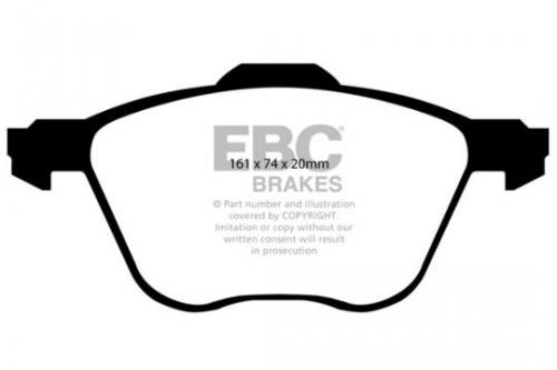 DP1413 Ultimax2 Front Brake Pads (Street) EBC Brakes