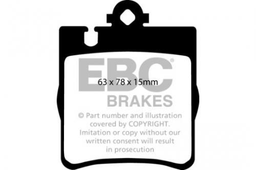 DP1441 Ultimax2 Bakre Bromsbelägg (Gata) EBC Brakes