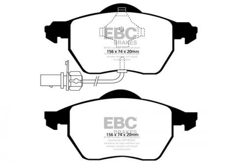 DP1483 Ultimax2 Front Brake Pads (Street) EBC Brakes