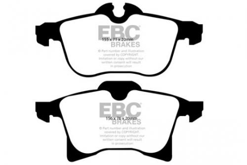 DP1520 Ultimax2 Front Brake Pads (Street) EBC Brakes