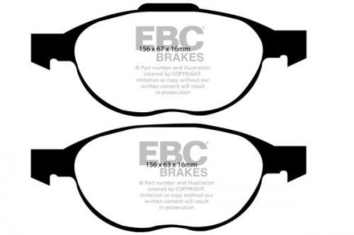 Ford/Volvo/Mazda Bromsbelägg Fram Ultimax2 EBC Brakes