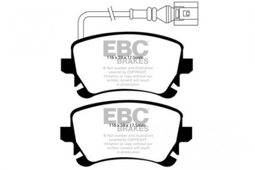 DP1534 Ultimax2 Rear Brake Pads (Street) EBC Brakes