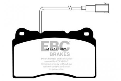DP1536 Ultimax2 Front Brake Pads (Street) EBC Brakes
