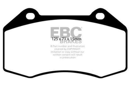 DP1539 Ultimax2 Front Brake Pads (Street) EBC Brakes