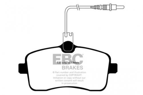 DP1549 Ultimax2 Front Brake Pads (Street) EBC Brakes
