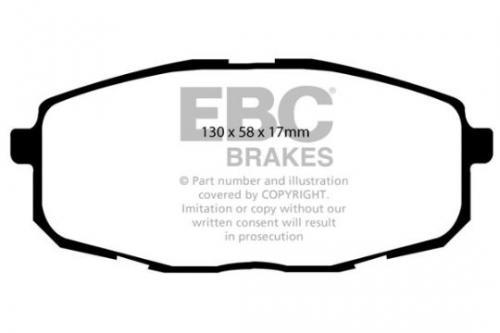 DP1562 Ultimax2 Främre Bromsbelägg (Gata) EBC Brakes